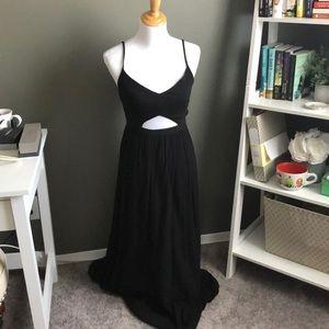 NWT Aerie keyhole maxi dress